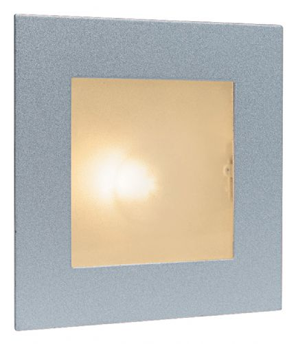 Firstlight 1131SS Satin Steel with Glass Cover Wall & Step Light